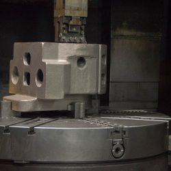 manufacturing a machined part